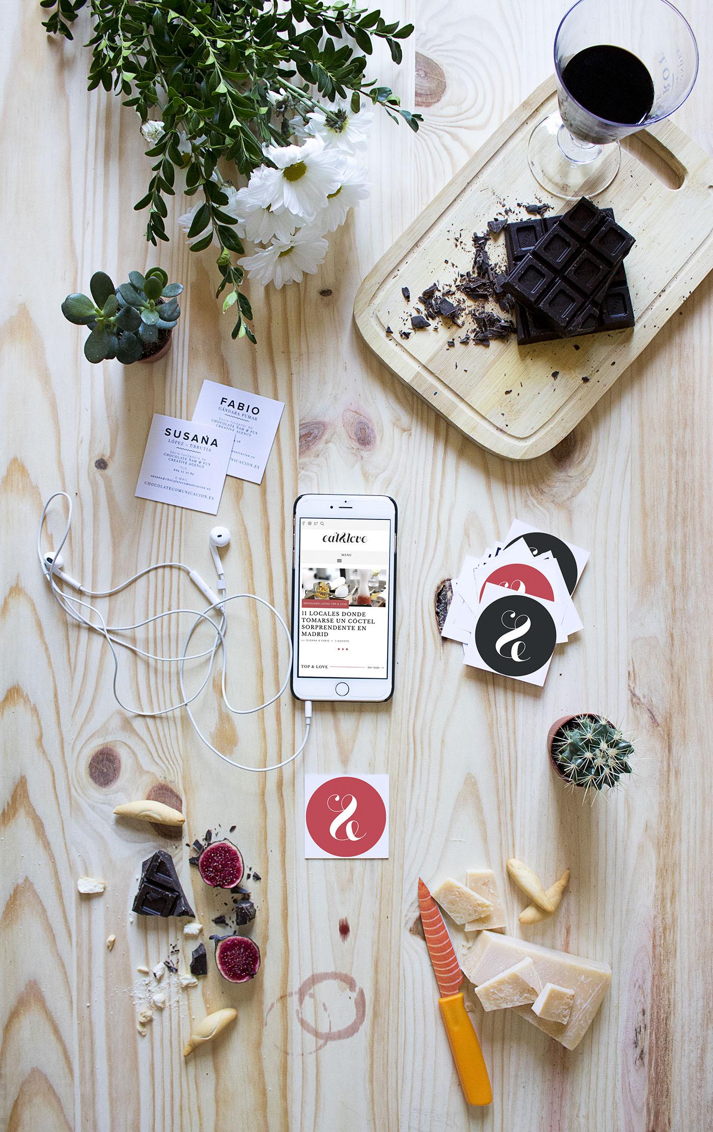 Chocolate comunicación gastronomía creatividad agencia Madrid