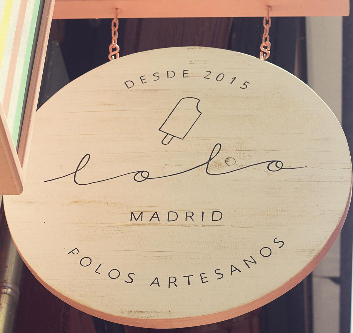 Lolo polos Chocolate agencia comunicación creatividad diseño gastronomía Madrid